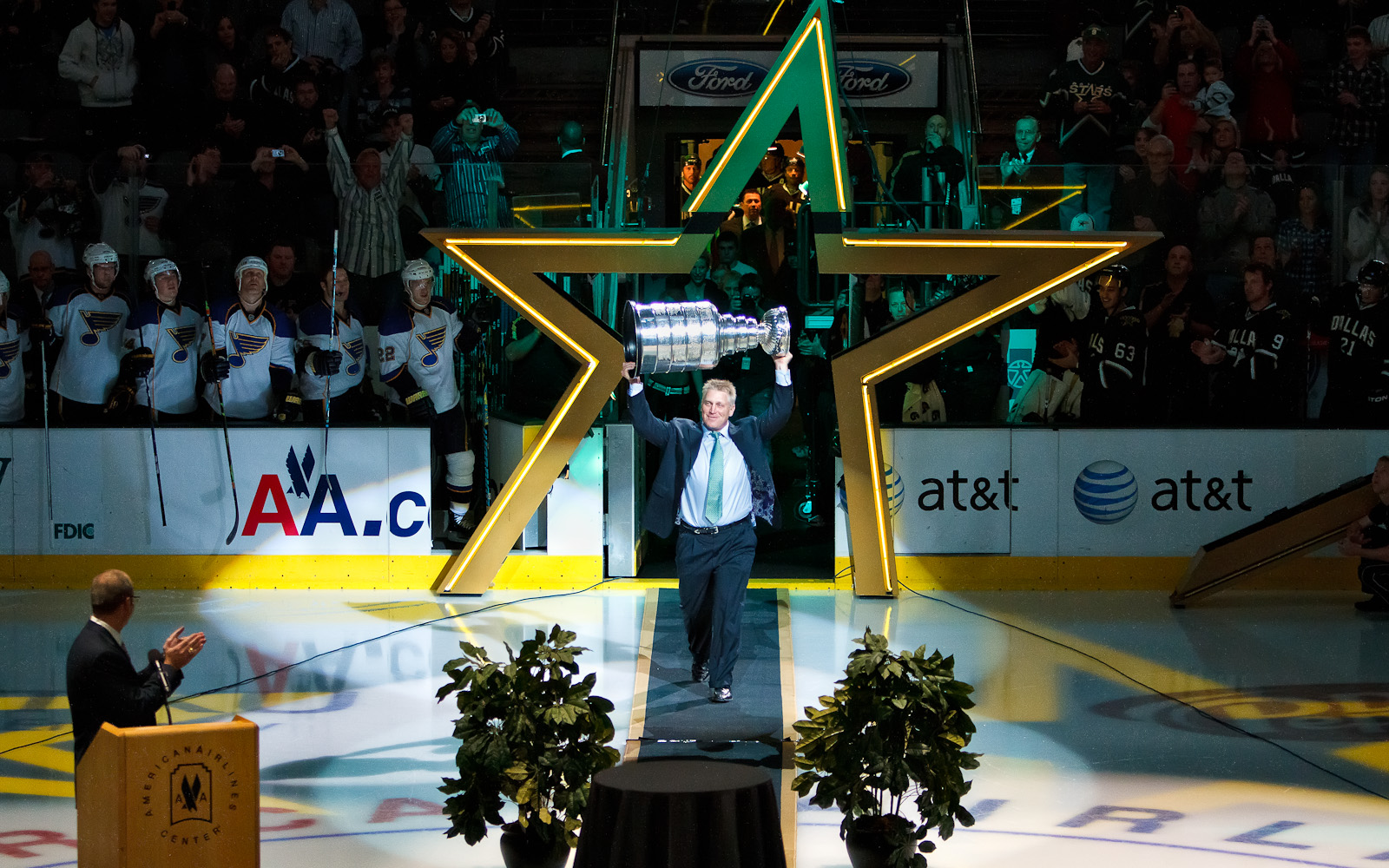 Brett Hull Hall of Fame Induction